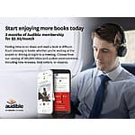 3 Months Audible for $2.95 a month - New Members Only