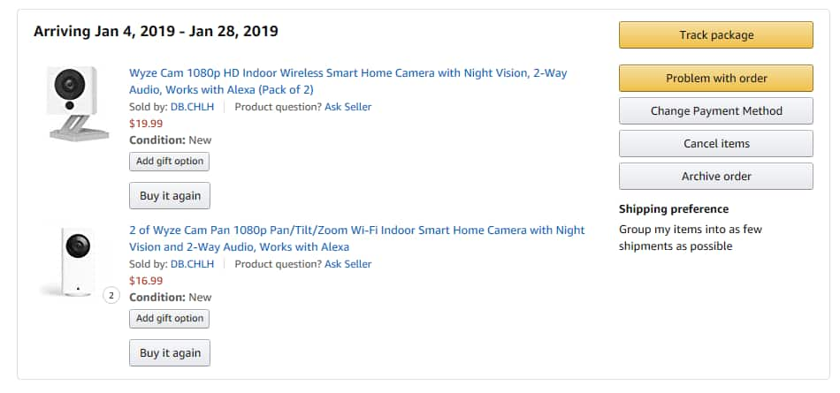 Wyze Cam 2 pack 20 Amazon $20 - Slickdeals net