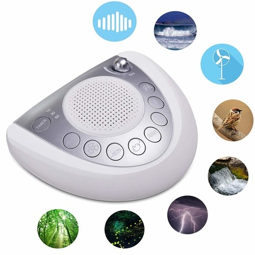 White Noise Machine, 7 soothing sounds - $21.61 - 6%OFF