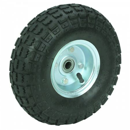 10 In. Pneumatic Tire With Zinc Hub $7.99