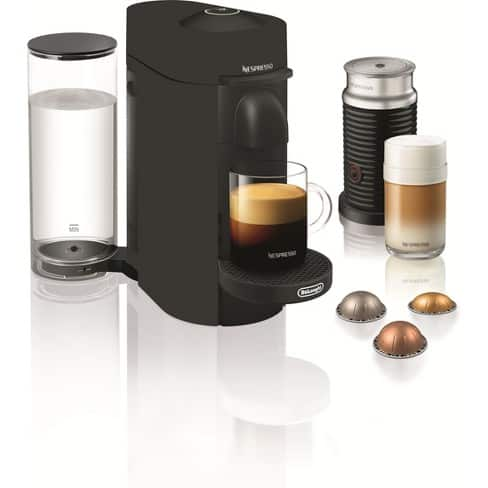 Nespresso VertuoPlus Limited Edition Coffee and Espresso Maker + Aeroccino Milk Frother , $101 + free shipping