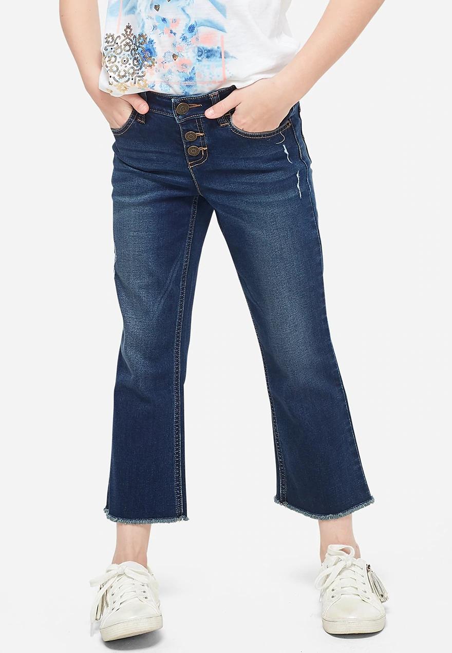 Denim jean leggings $10