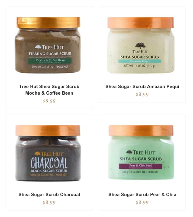 25% off Sitewide - Tree Hut Shea Sugar Scrubs, butters, lotions, etc.