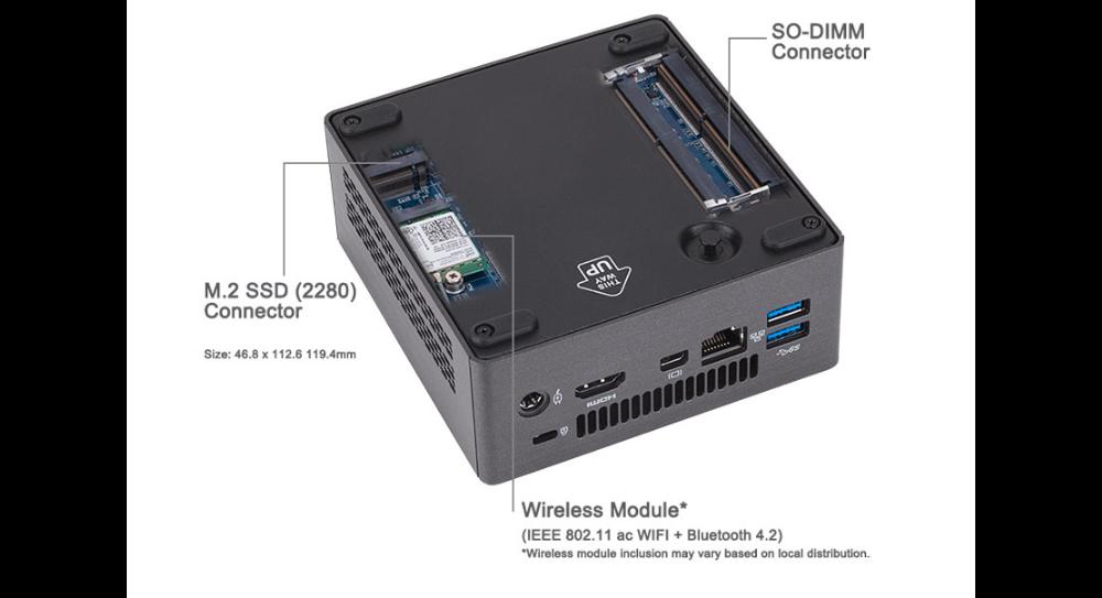Gigabyte Brix i5H-8250 Barebone PC with 240GB SSD @ Frys