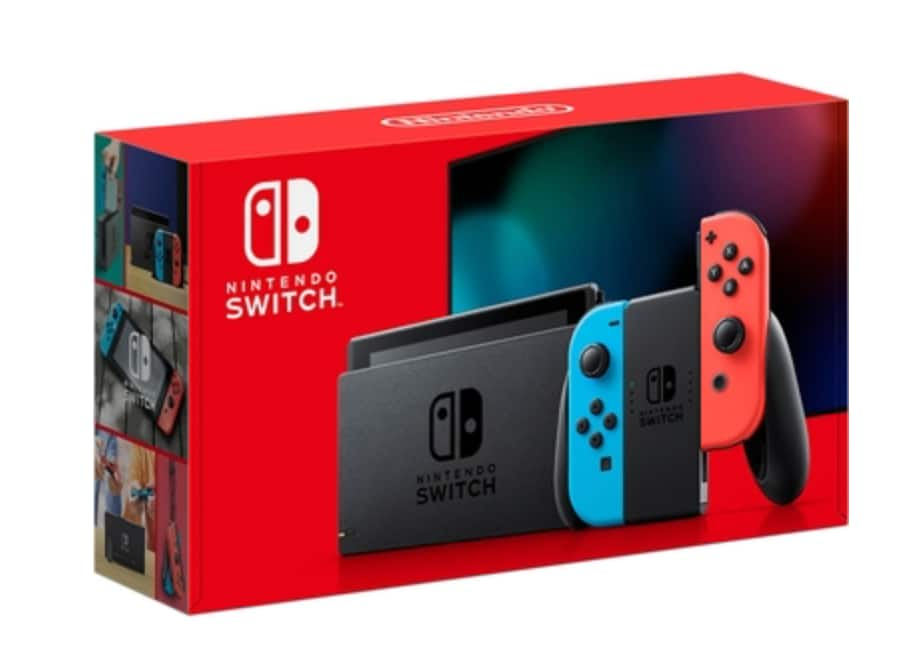 Active Military & Vets: Nintendo Switch with Neon Blue and Neon Red Joy-con for $299.00 + FS