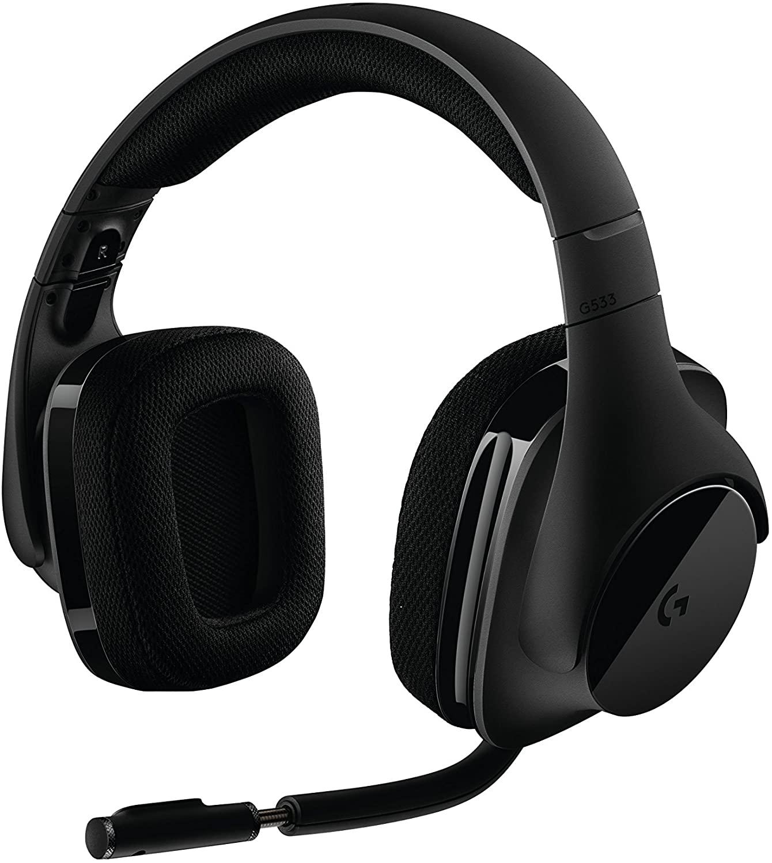 Logitech G533 Wireless DTS 7.1 Surround Gaming Headset $79.99