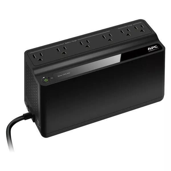Schneider APC Back - UPS Surge Protector - Black (BN450M) - Target $20 YMMV