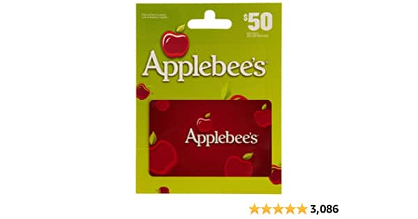 Amazon: Applebee's $50 Gift Card for $40 | Free Shipping