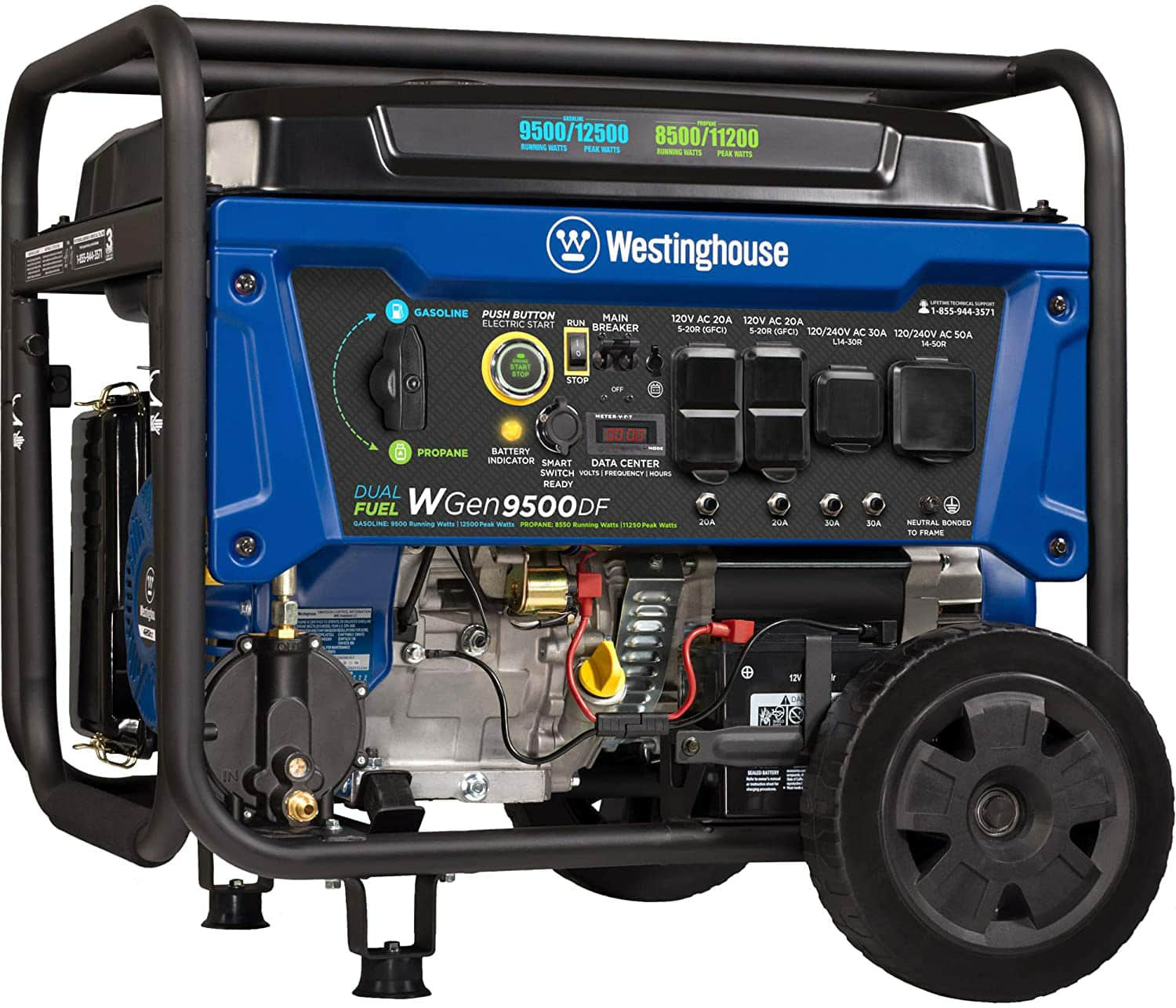Westinghouse WGen9500DF Dual Fuel $832.90 on Amazon