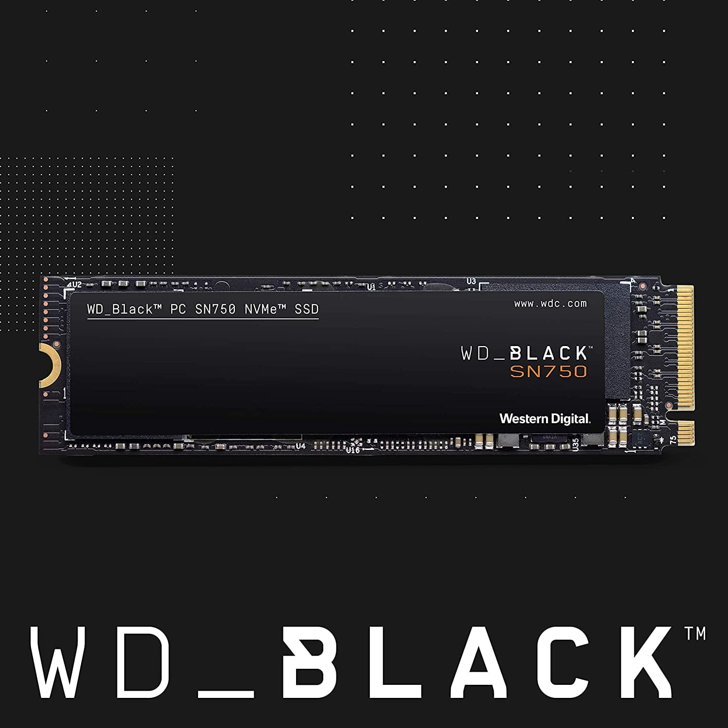 WD Black SN750 2TB NVMe Internal Gaming SSD - $309.99 @ Amazon