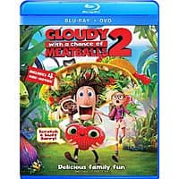 Amazon Deal: Cloudy with a Chance of Meatballs 2 (Two Disc Combo: Blu-ray / DVD + UltraViolet Digital Copy) $10 FS for Prime Amazon
