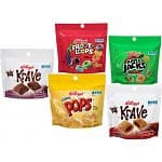 Amazon - Kellogg's Cereal Variety Pack Pouches, 5 Flavor, 0.64 Ounce (Pack of 20) - 20% Amazon Mom + S&S (YMMV) and 40% Coupon = $5.76 / .29 per Serving