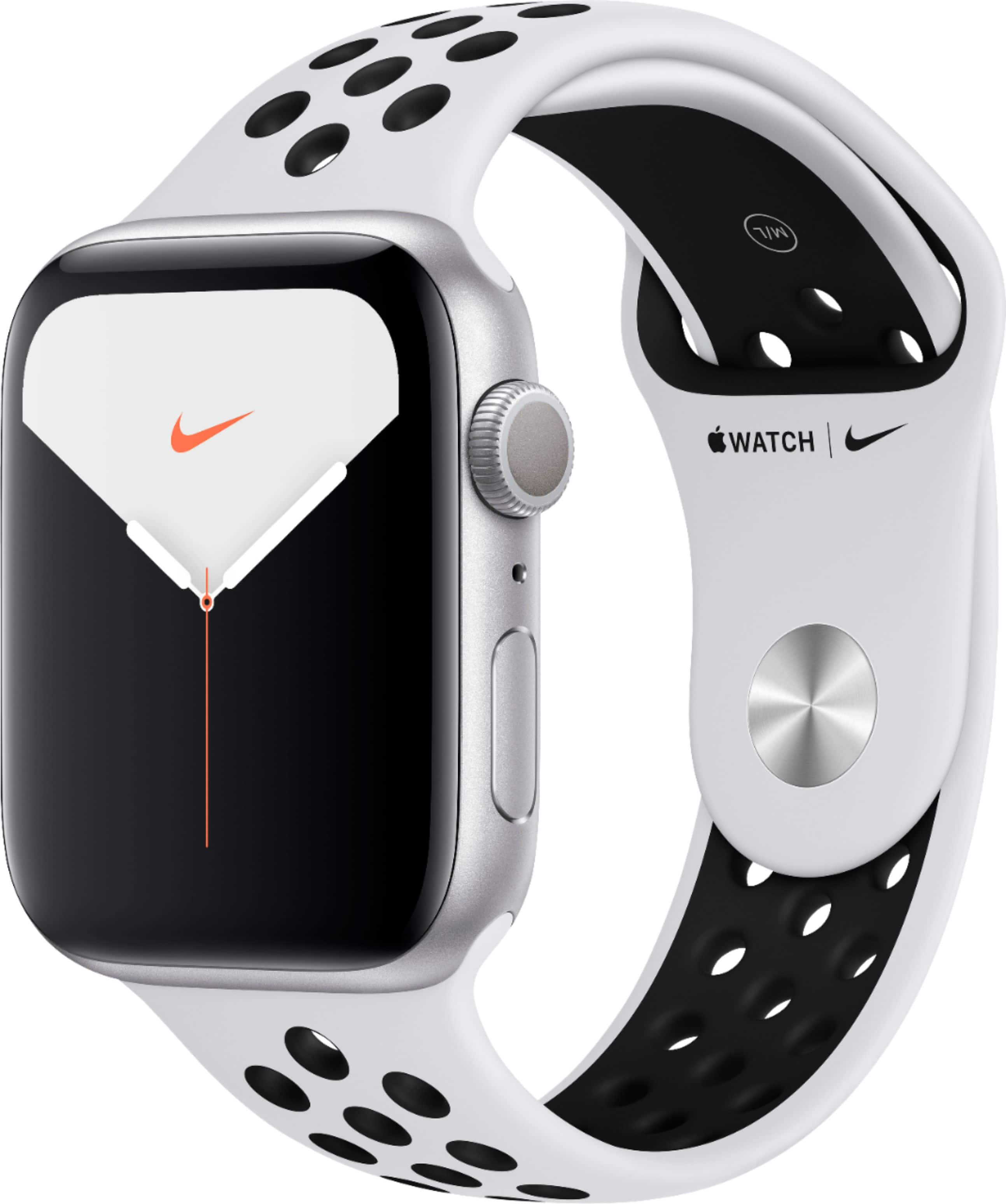 Apple Watch Nike Series 5 Watch 44mm (Silver Aluminum) - $299.00
