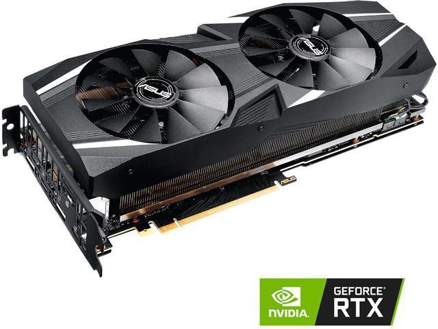 ASUS Dual GeForce RTX 2070 DirectX 12 DUAL-RTX2070-O8G 8GB 256-Bit GDDR6 PCI Express 3.0 HDCP Ready Video Card $489.99 w/ promo code + free game