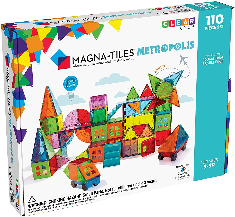 Magna Tiles Metropolis Set for $91+Tax on Amazon