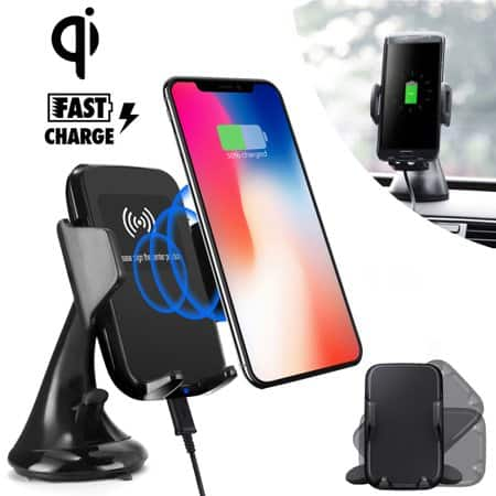 QI wireless charging phone holder $4.50