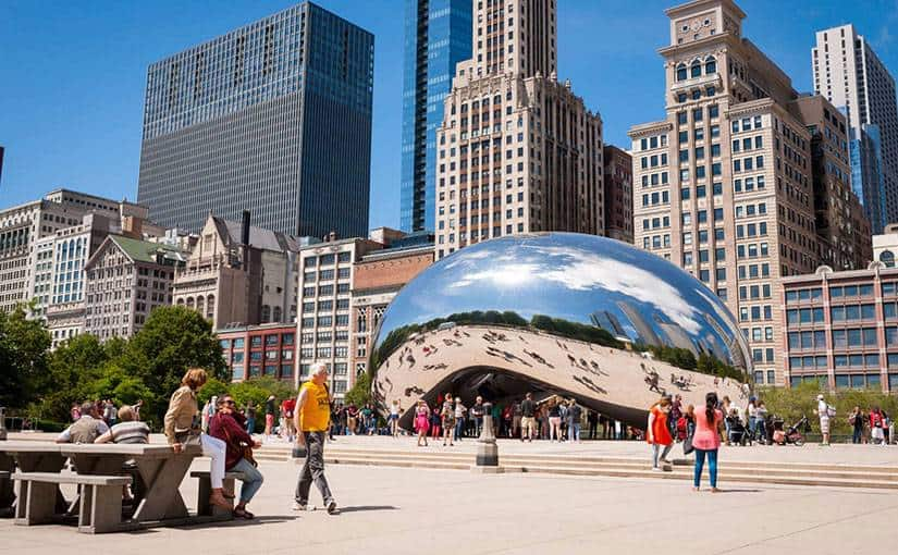 Los Angeles to Chicago RT non stop fares in American Airlines for $113