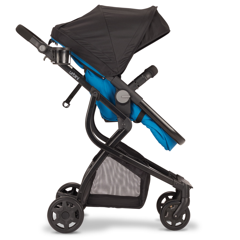 Urbini Omni Stroller 3 in 1 Travel System, Fjord Blue for $99