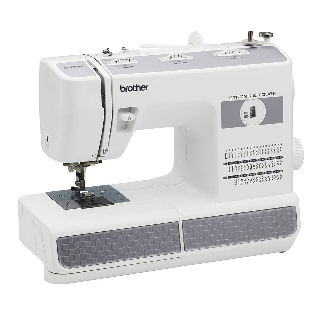 Brother RST531HD (Refurbished) Strong and Tough, Heavy Duty 53 Stitch Sewing Machine $128
