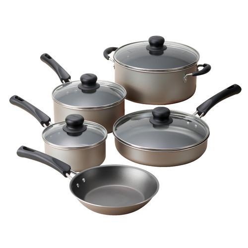 Tramontina 9-Piece Non-Stick Cookware Set $19.88