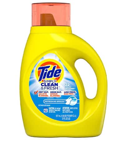 Tide Simply + oxi Liquid Laundry Detergent - 31.0fl oz $2.49