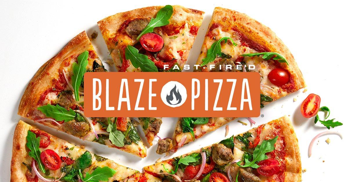 Blaze Pizza FREE Gluten-Free Dough Upgrade 5/18
