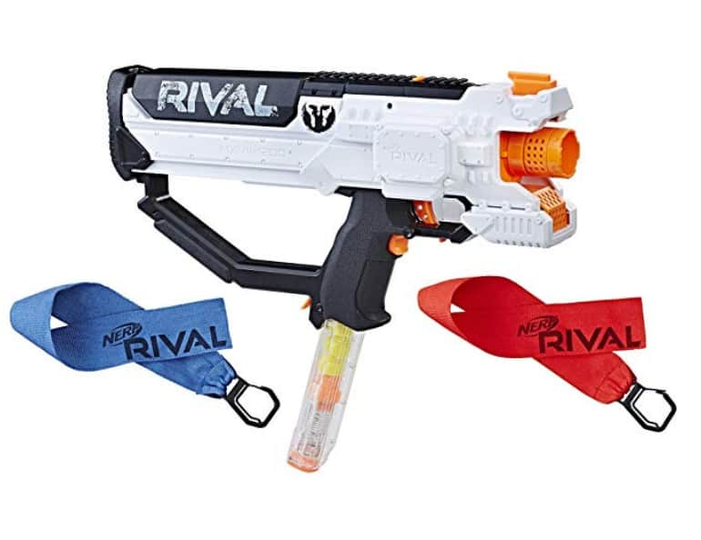 Nerf Rival Hera Mxvii 1200 White Combat Blaster @ Amazon/Target for  $29.99