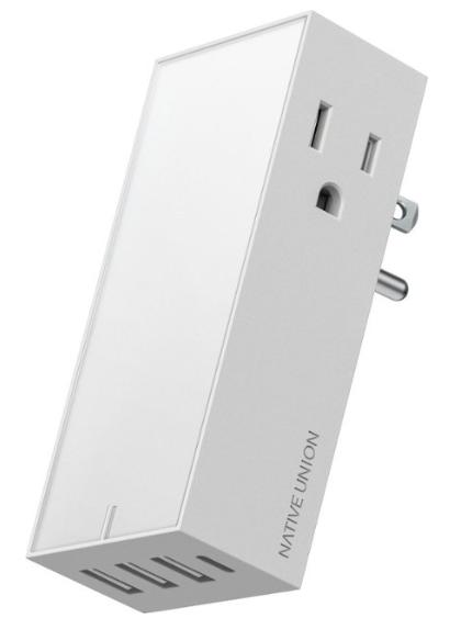 Native Union - Smart Hub Universal Power Adapter + 2 A/C ports  $ 14.99 Best Buy