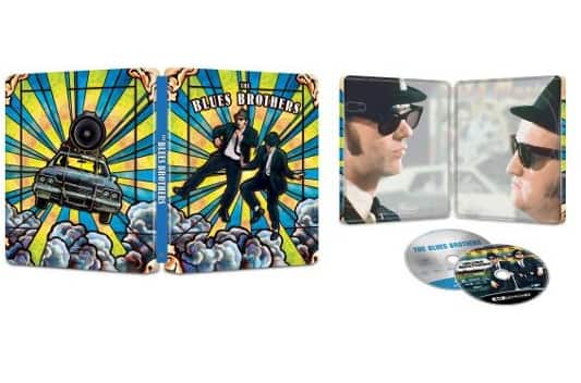 The Blues Brothers [SteelBook] [4K Ultra HD Blu-ray/Blu-ray] [Only @ Best Buy]  19.99
