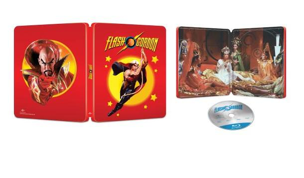 Flash Gordon [SteelBook] [Blu-ray] [Only @ Best Buy] 12.99
