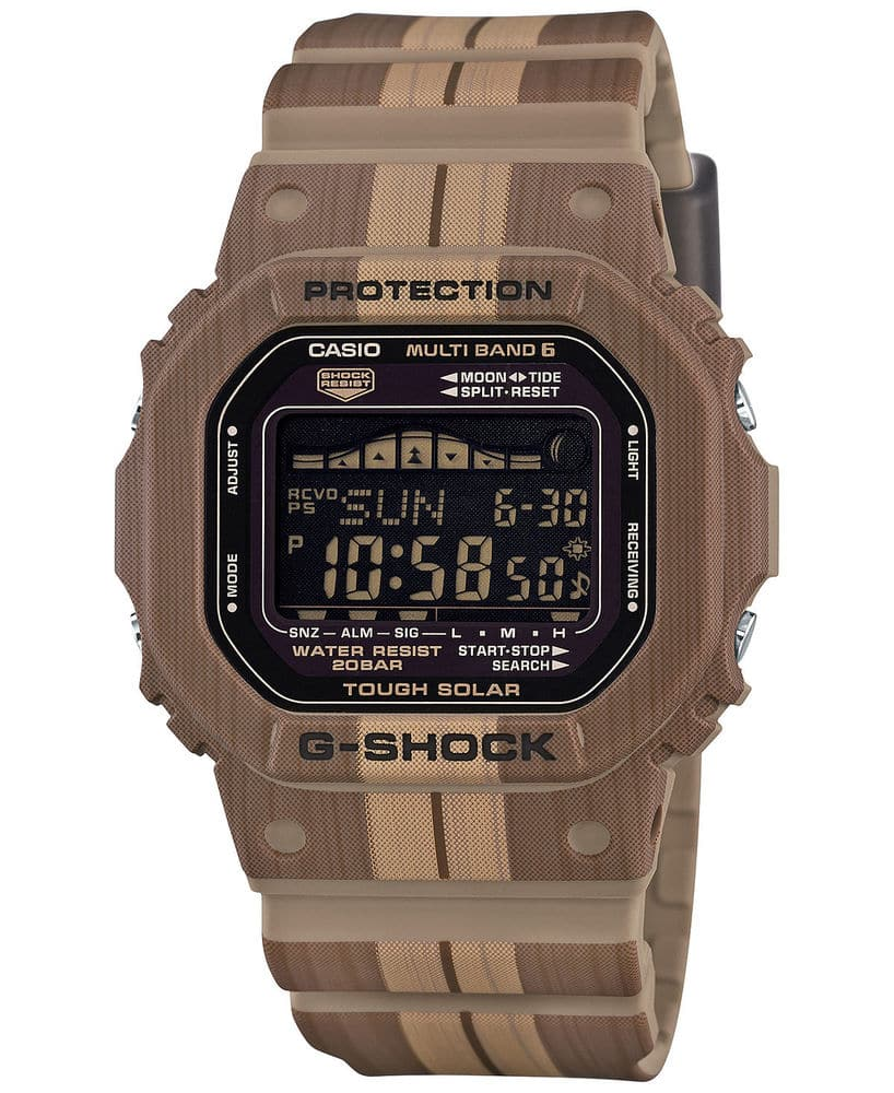 Casio G-Shock GWX5600WB-5 Tough Solar Multifunction Brown/Tan Resin 49mm Watch, $64.99 with FS @ ebay