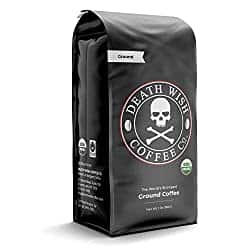 16-Ounce Death Wish Coffee - Grounds - S&S Option $12.74