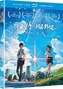 Your Name. Movie Blu-Ray-DVD Combo $12.99