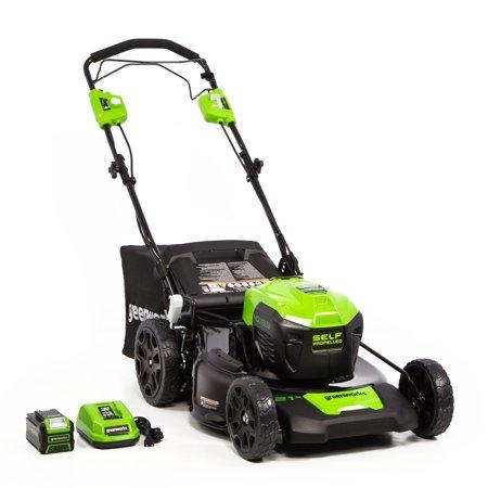"""Greenworks SP 40V 21"""" Mower 169.00"""
