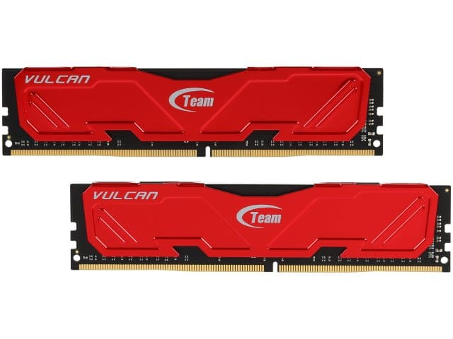DDR4 memory *** Team Vulcan 16GB (2 x 8GB) DDR4 3000 (PC4 24000) Desktop Memory *** $60 @ Newegg FS