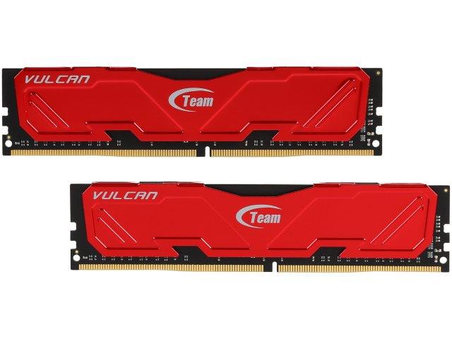 DDR4 memory *** Team Vulcan 16GB (2 x 8GB) DDR4 3000 (PC4 24000) Desktop Memory *** $60 @ Newegg FS