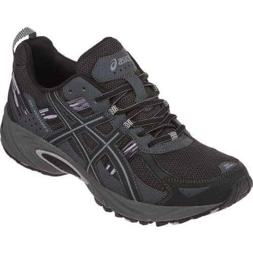 Men's ASICS Gel Venture 5 Trail Running Shoe (BlackGrey
