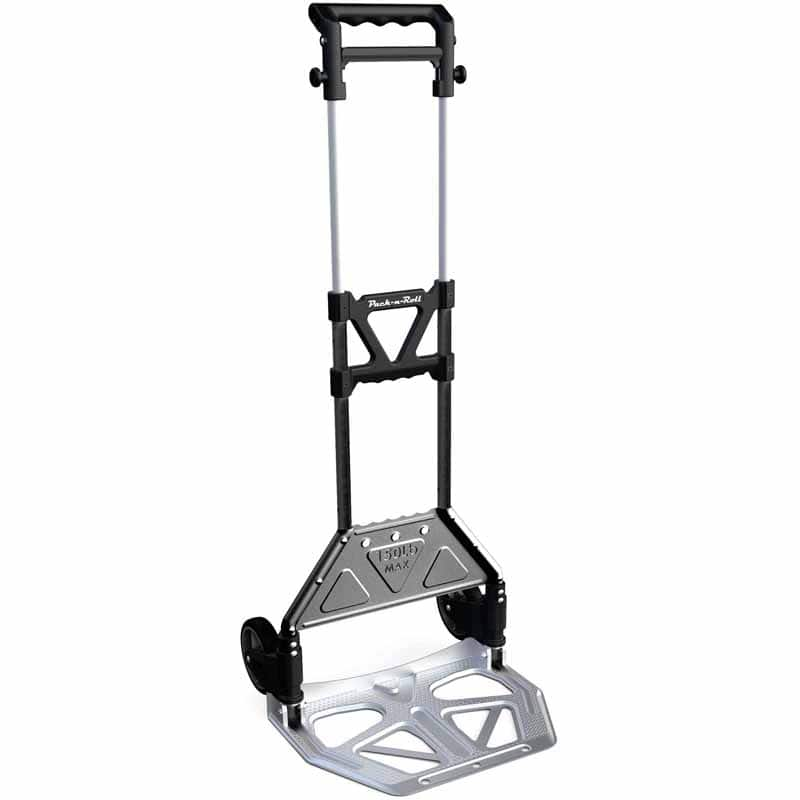 Olympia Pack-N-Roll 150LB Folding hand truck Cart With Steel Toe Plate  $16.00