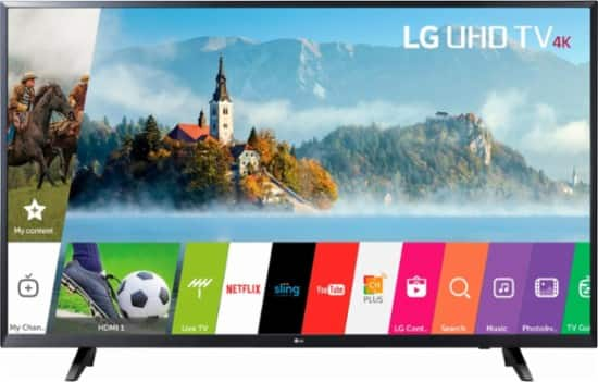 "LG 65"" UJ6200 4K LED Ultra HD Smart TV $649 at Best Buy YMMV"