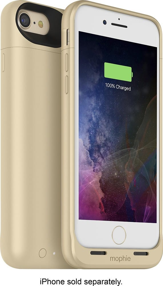 reputable site d07b7 13f35 Mophie Juice Pack for iPhone 7 and iPhone 7 Plus Gold $50 @ Best Buy ...