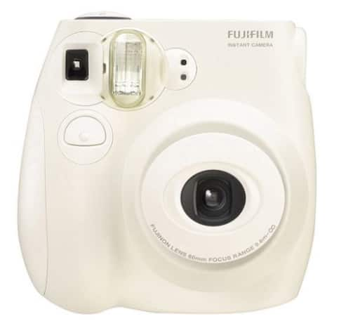 Fujifilm Instax Mini 7S Instant Camera (with 10-pack film) - White $49