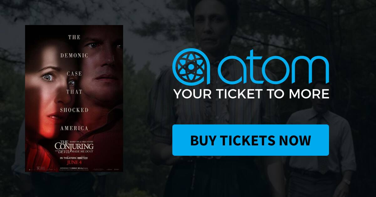 Atom BOGO Movie Tickets for The Conjuring: The Devil Made Me Do It  (June 2-13)