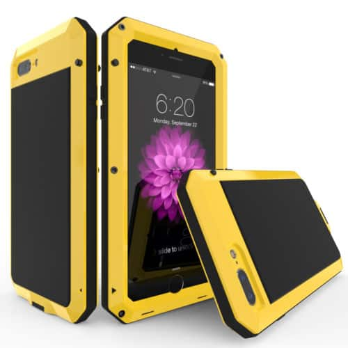 Heavy Duty Water Resistant Aluminum Case for iPhone