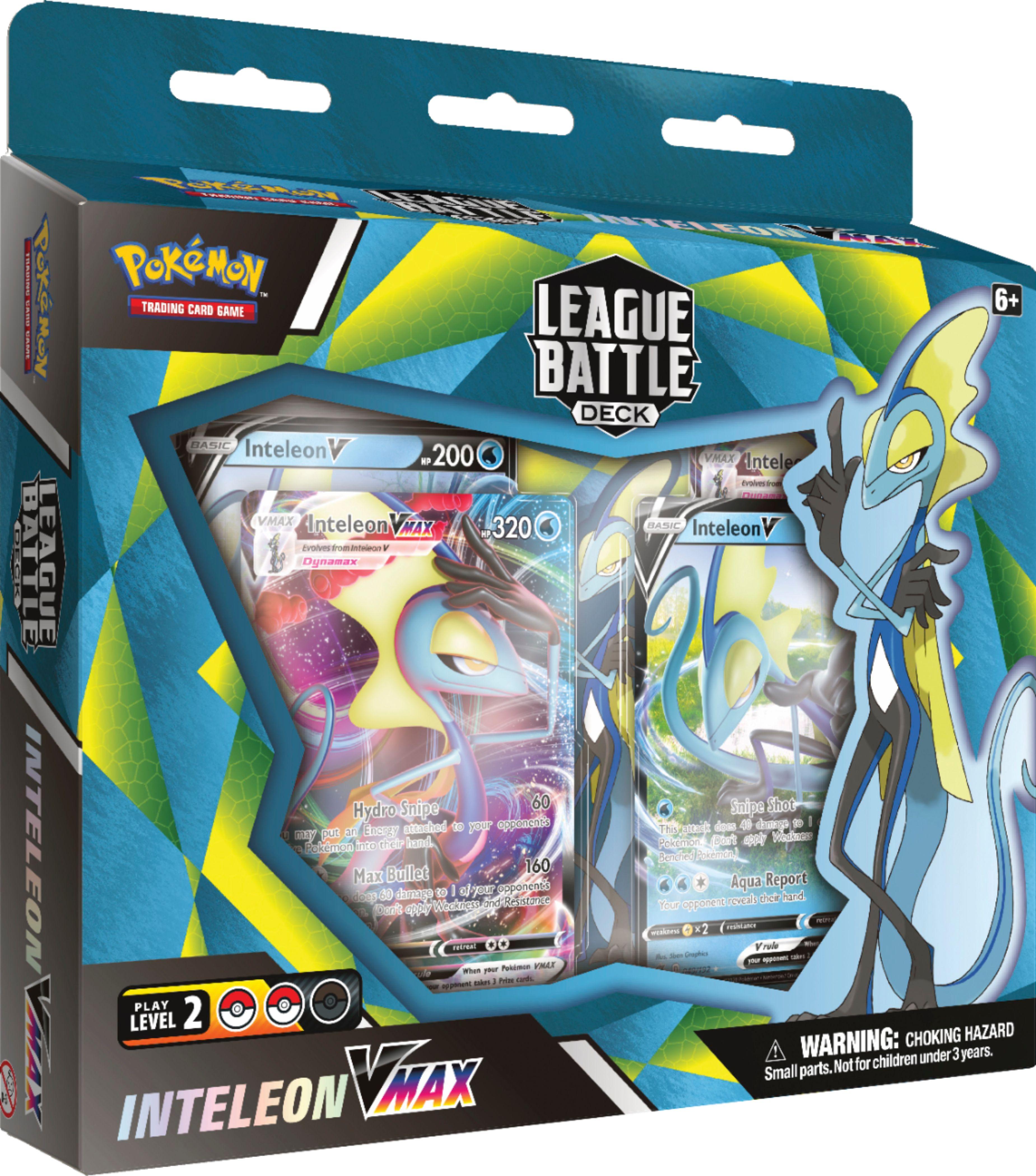 Pokémon Pokemon TCG: Inteleon VMAX Battle Deck 82874 - Best Buy $29.99