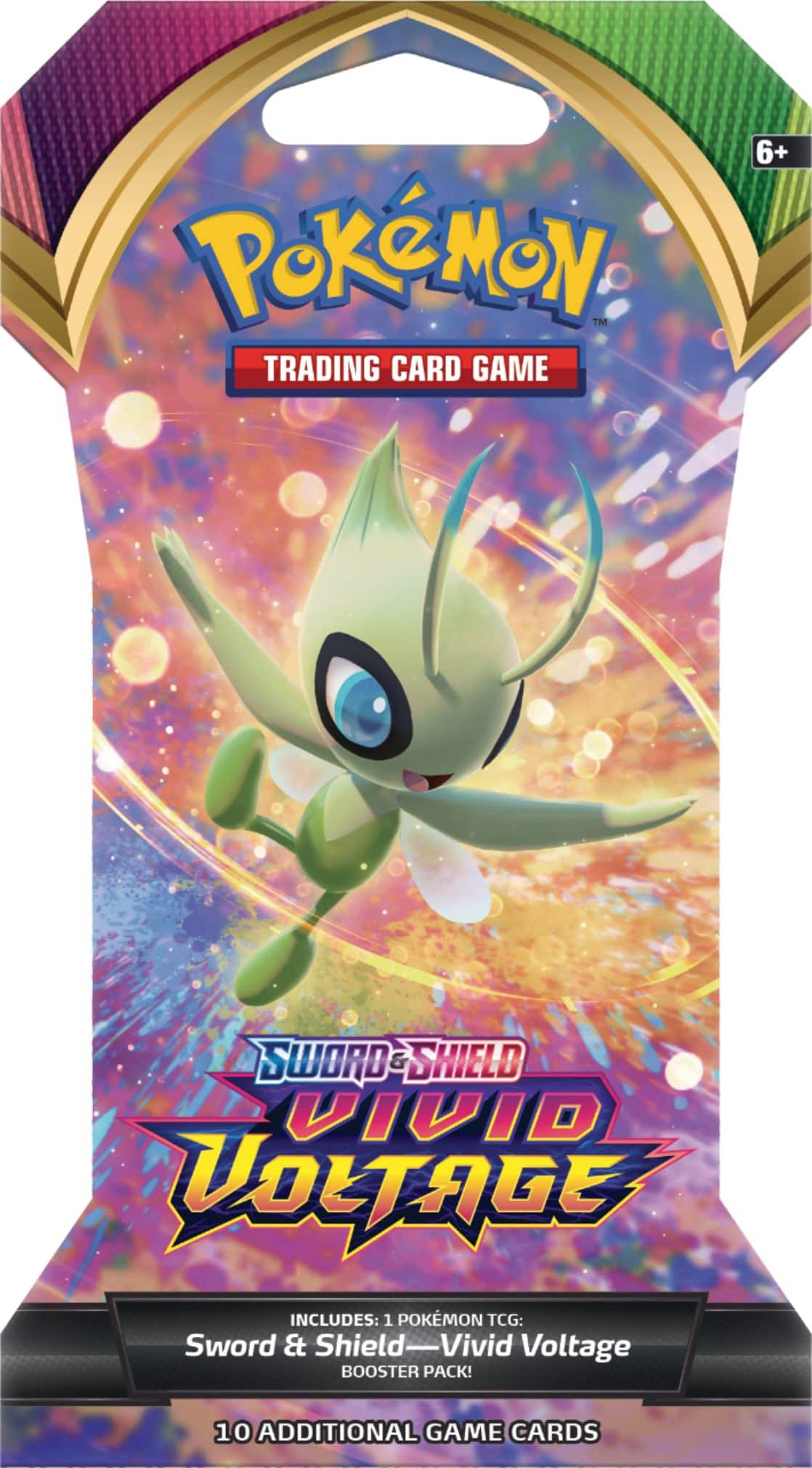 Pokémon TCG: Sword & Shield—Vivid Voltage Sleeved Booster 175-82750 - Best Buy $3.99