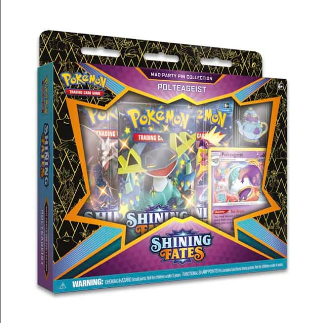 Pokémon TCG: Shining Fates Mad Party Pin Collection (Galarian Mr. Rime) $14.99