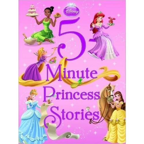 Disney 5-Minute Princess Stories (5-Minute Stories) $5.98
