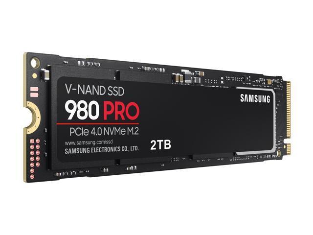 SAMSUNG 980 PRO M.2 2280 2TB PCIe Gen 4.0 x4, NVMe 1.3c Samsung V-NAND Internal Solid State Drive FOR $379.99+FS