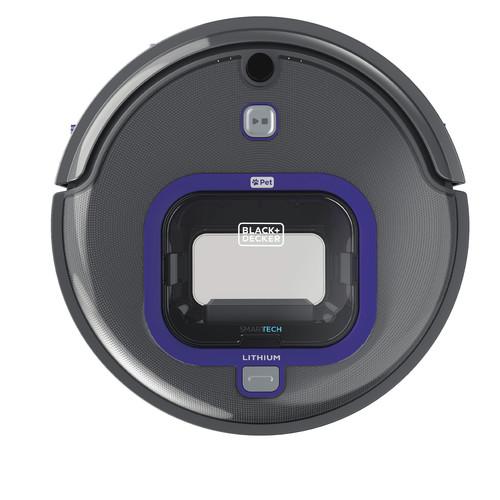 Black & Decker HRV425BLP PET Lithium Robotic Vacuum with LED and SMARTECH $160