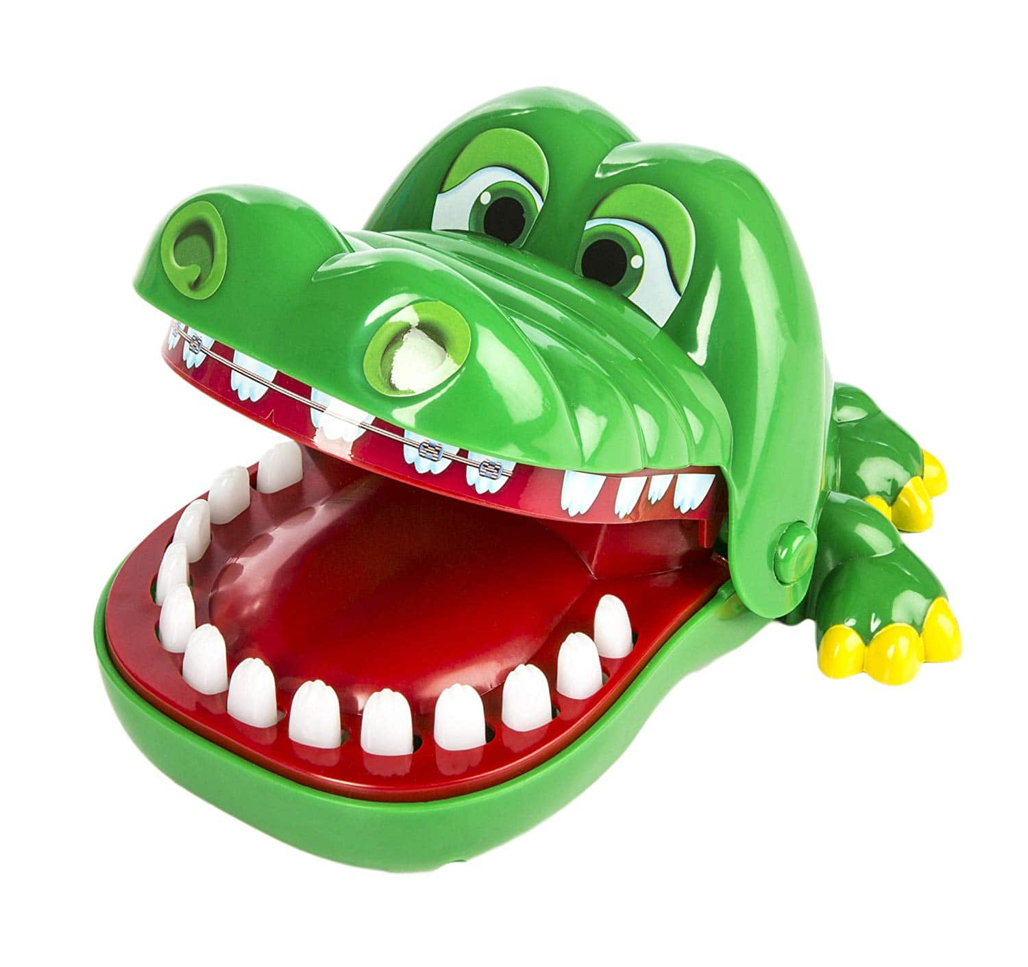 Crocodile Dentist - A Grouchy Friend with a Grievous Toothache - 1 to 4  Players - Ages 4 and Up  4.95 cdda90ffa7